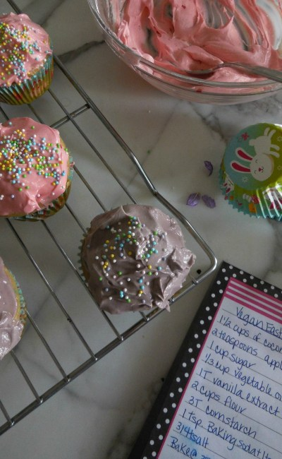 Recipe: Sugary Sweet Vegan Cupcakes for Easter