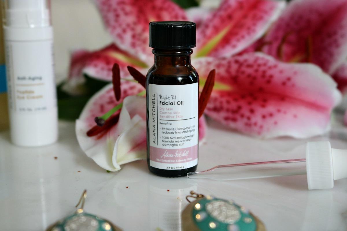 Alana Mitchell Skincare Facial Oil I DreaminLace.com