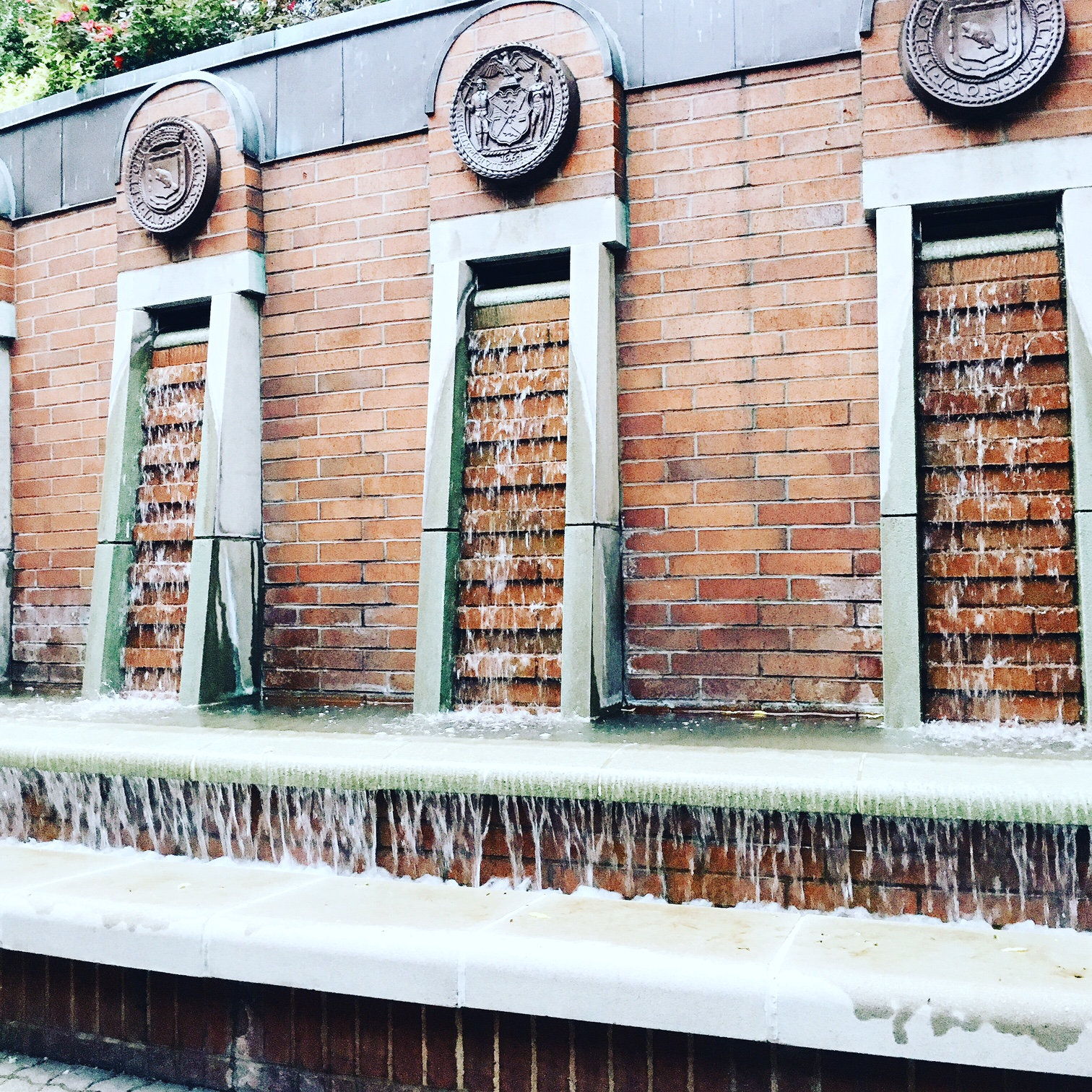 New York Fashion Week Diary : Fountain in the Meatpacking District