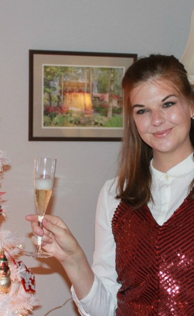Cheers! Toasting the New Year with Tobi