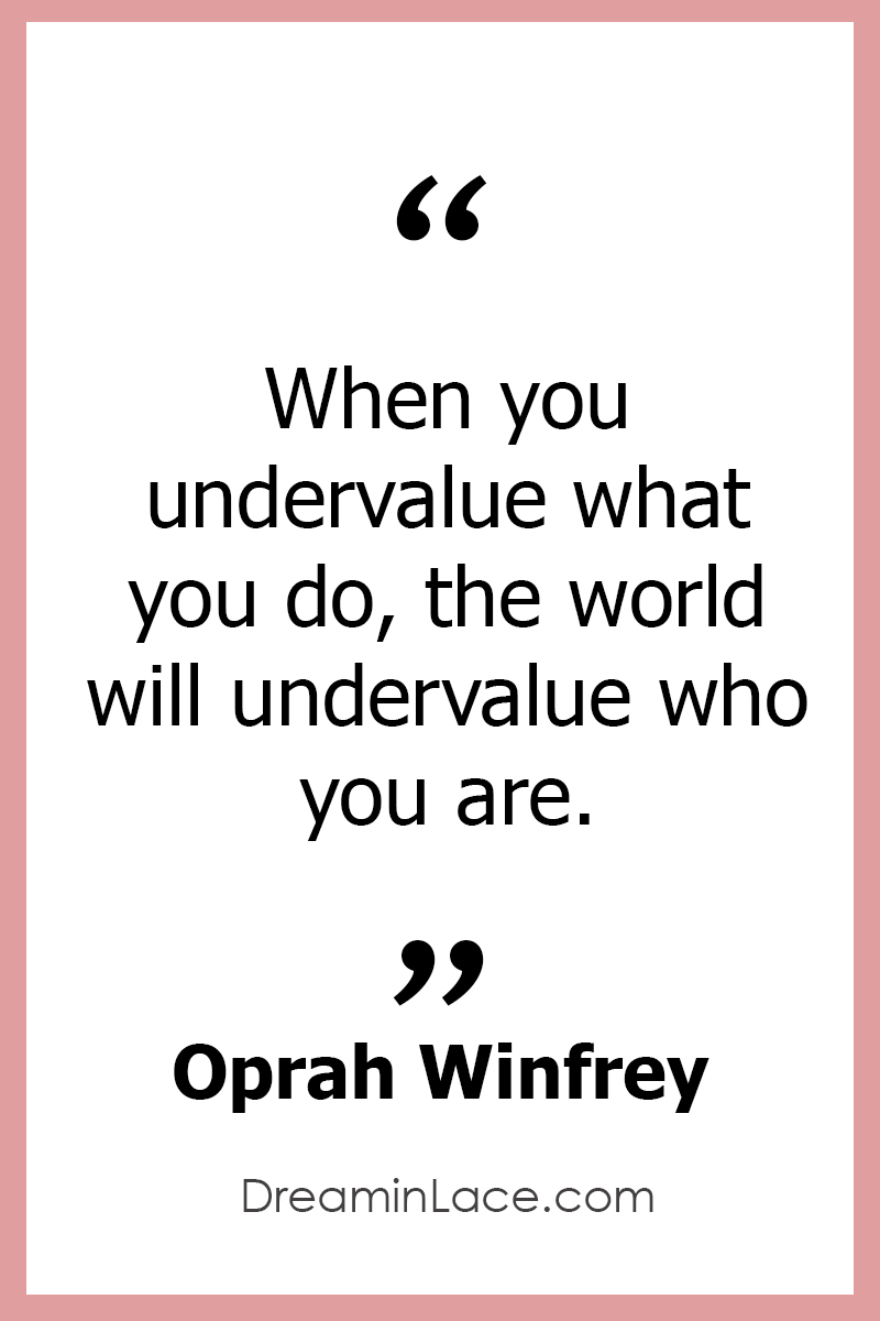 Inspiring Women's Day Quote by Oprah Winfrey #WomensDay #Oprah #Quotes