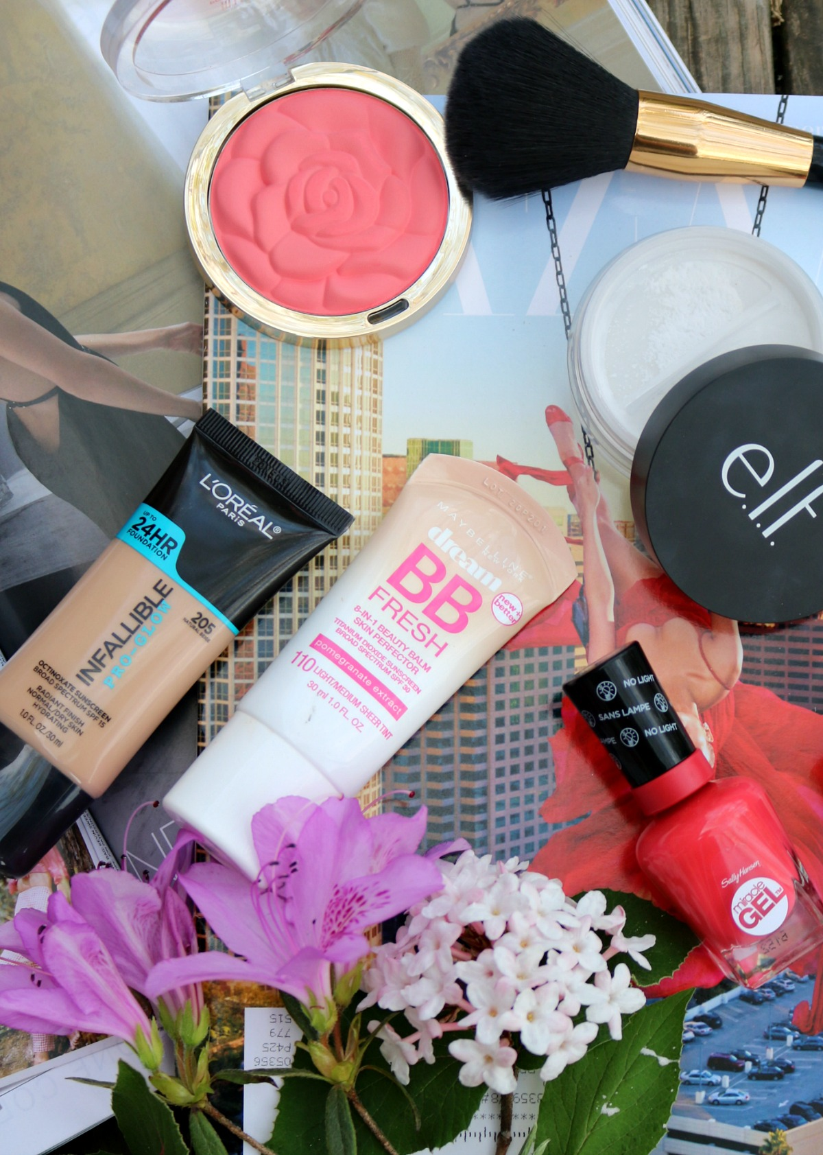 Spring Drugstore Makeup Favorites I DreaminLace.com #SpringMakeup #Makeup