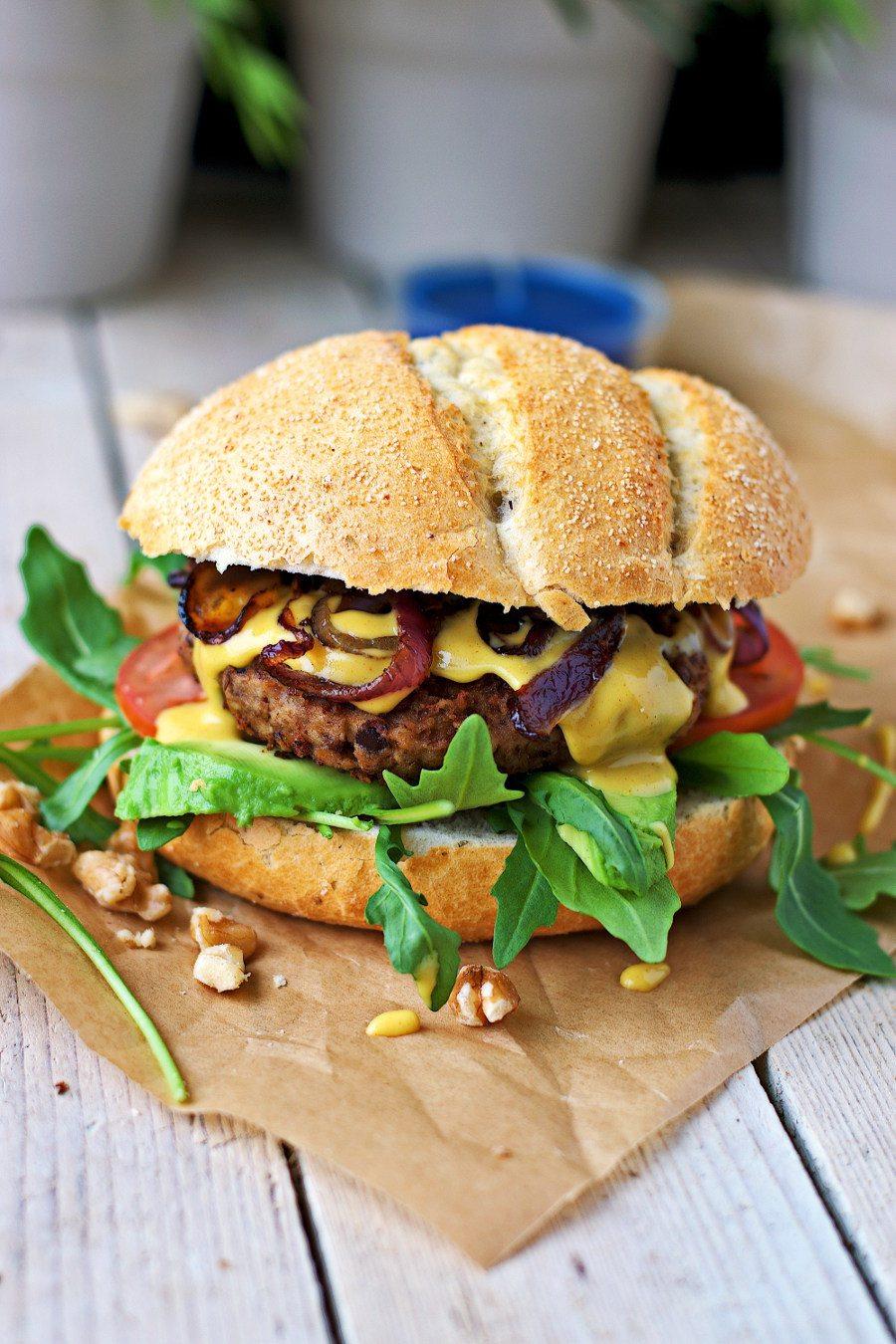 Vegan Summer Recipes to Try I Lentil Burger #Vegan #SummerRecipes