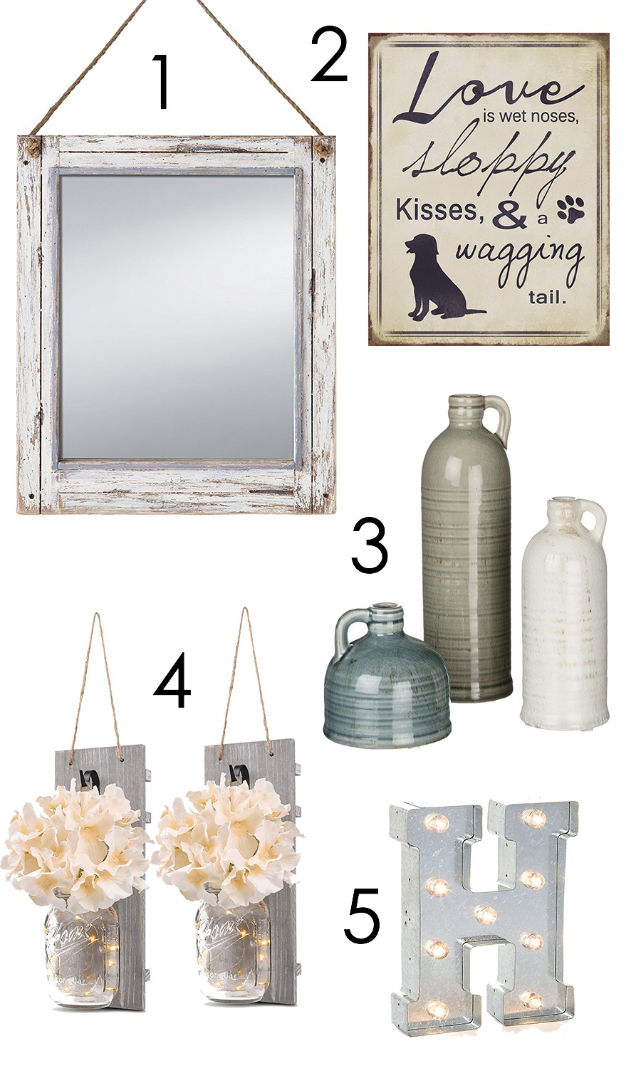 Rustic Home Decor Picks from Amazon I DreaminLace.com #HomeDecor #Rustic #AffordableHomeDecor #BudgetDeco