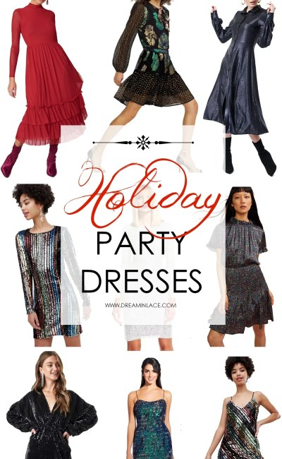 Irresistible Glitzy Holiday Party Dresses