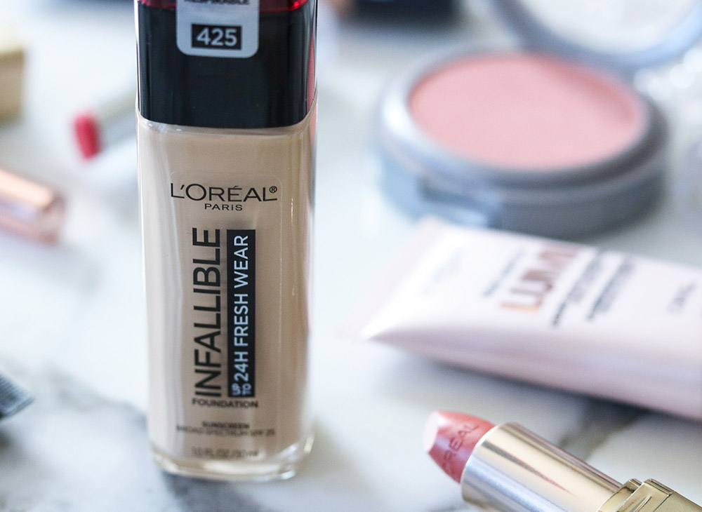 Best Blog Posts of 2019 I Loreal Infallible Fresh Wear Foundation Review