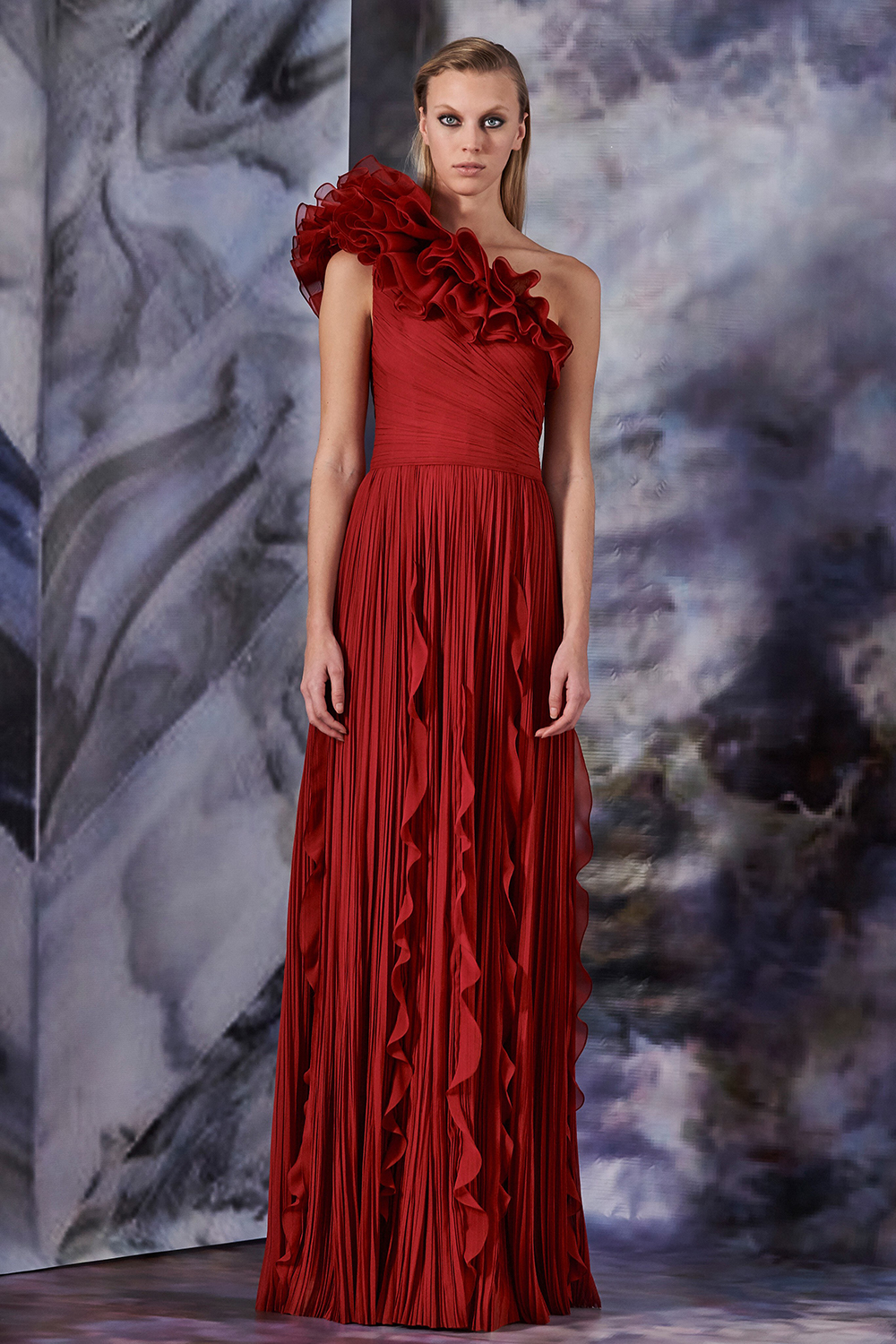 Best NYFW Looks I J.Mendel Fall 2019 Collection #NYFW #Fall2019 #FW19 #Runway