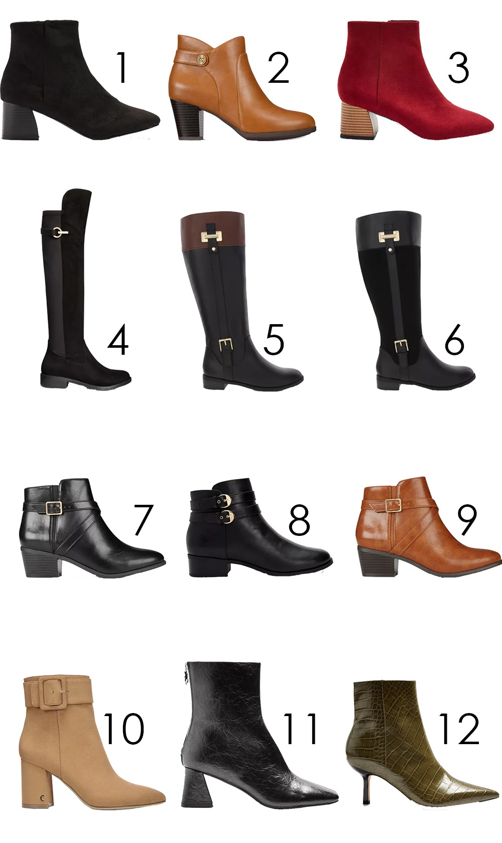 Vegan Leather Boots Under $100 I DreaminLace.com