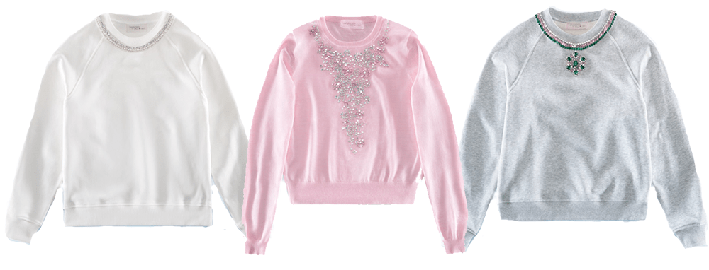 HM Giambattista Valli Collection Sweatshirts I DreaminLace.com