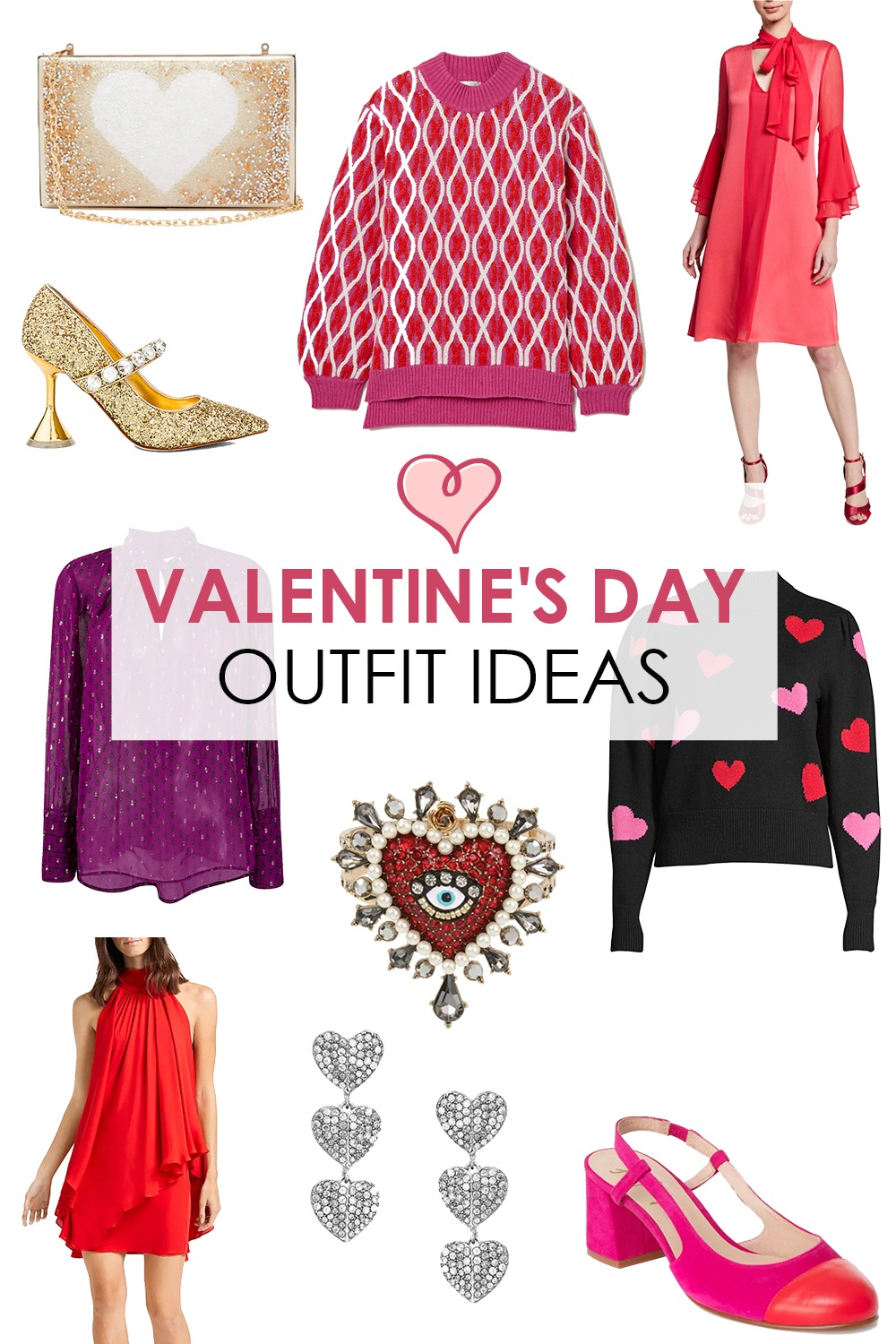 Festive Valentine's Day Outfit Ideas I DreaminLace.com