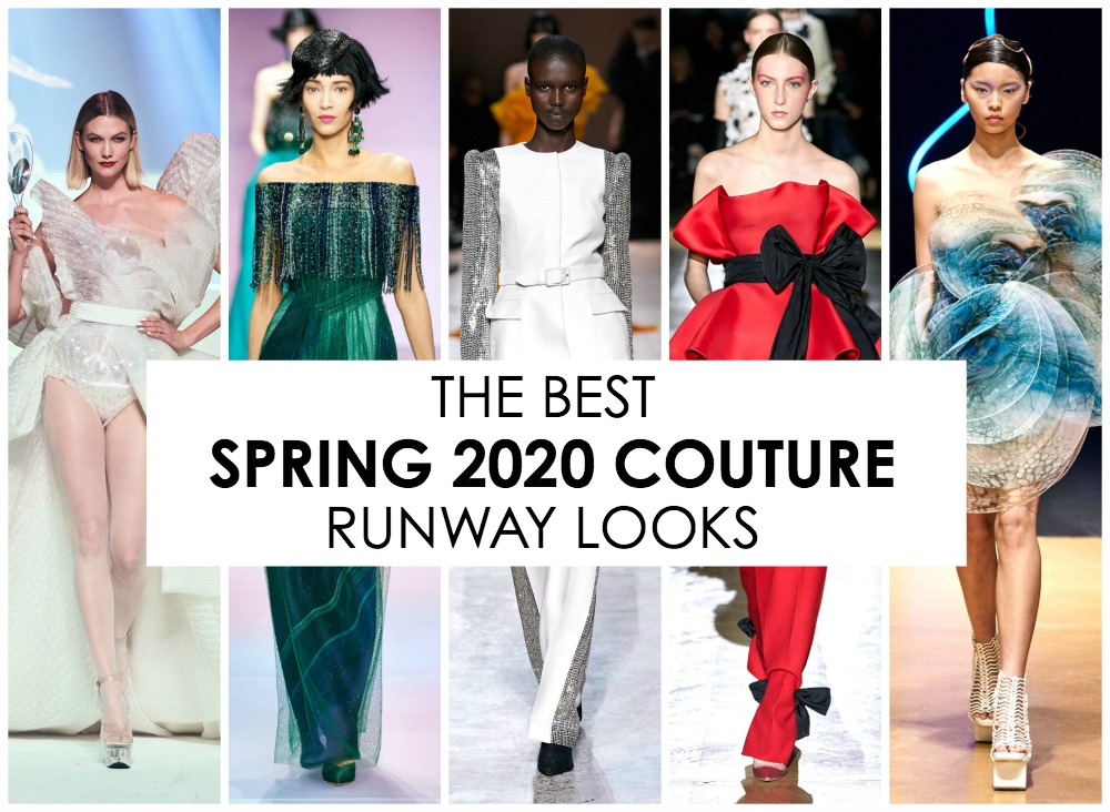 The Best Spring Couture 2020 Runway Looks I DreaminLace.com