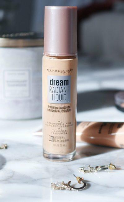 The New Maybelline Dream Radiant Liquid Foundation