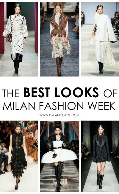 The 21 Best Looks of Milan Fashion Week