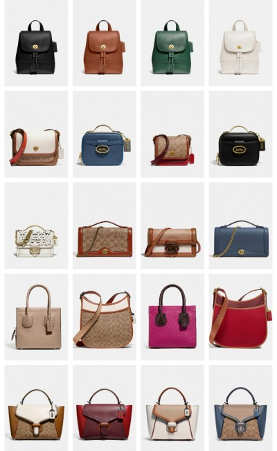 Meet the New COACH Fall 2020 Handbags