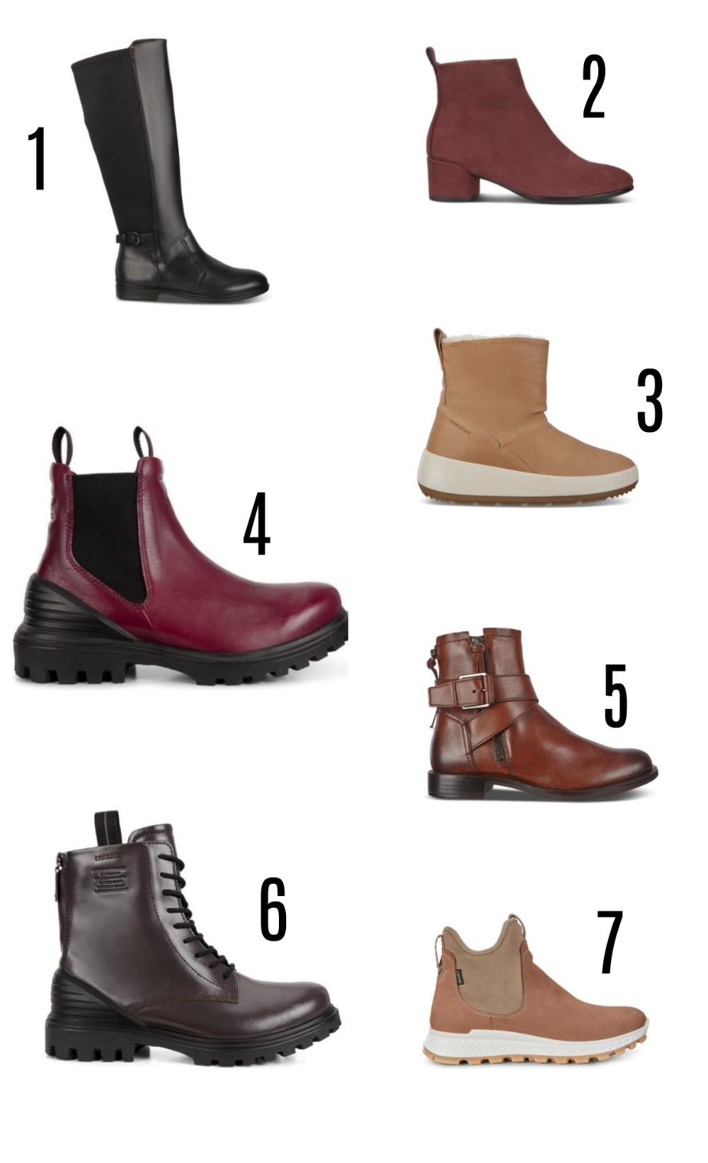 ECCO Fall 2020 Boots Lineup I DreaminLace.com #fallfashion #boots