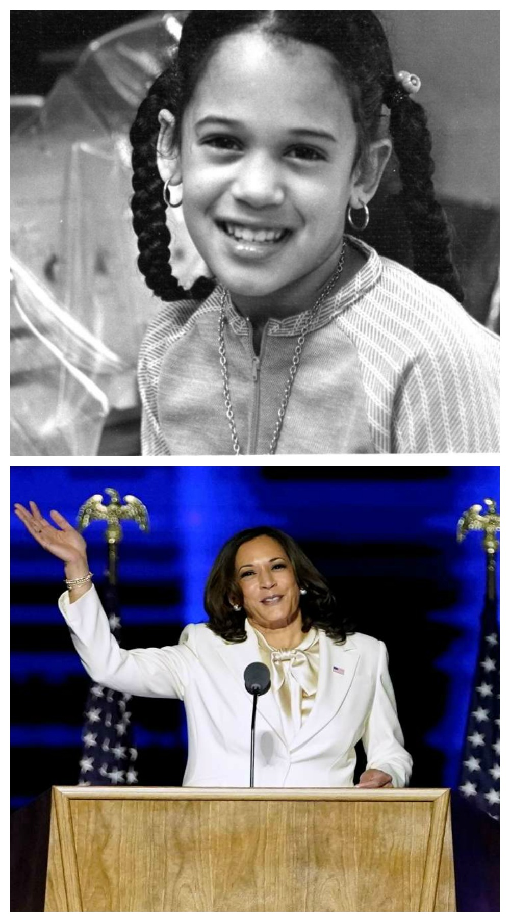 Celebrating America's First Madame Vice President-Elect Kamala Harris I dreaminlace