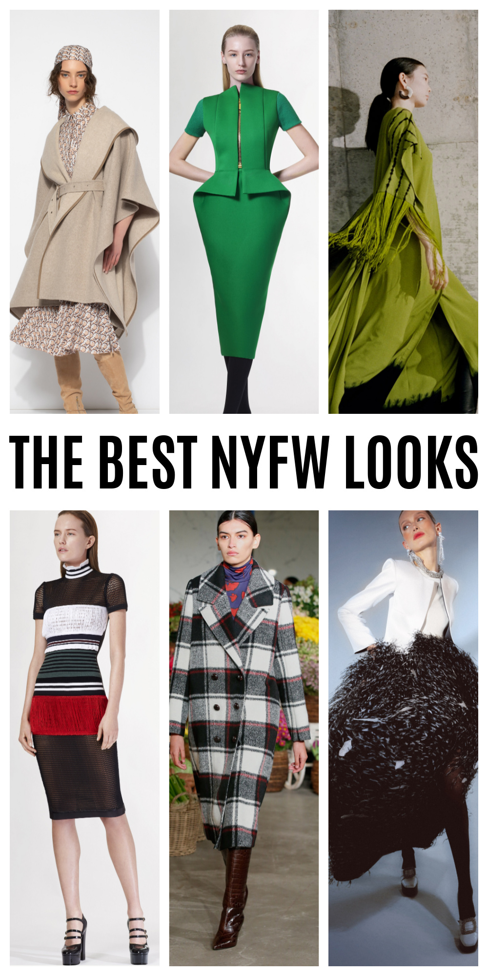 The Best NYFW Looks Fall 2021 Season I DreaminLace.com #fashionblog #womensfashion #fashionista