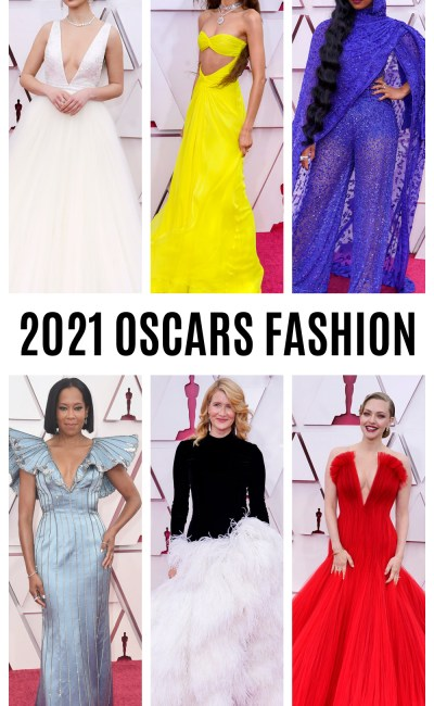 Glamorous Fashion Moments from the 2021 Oscars