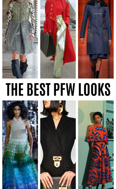 The Best Paris Fashion Week Looks for Fall