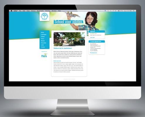 Webdesign website St Jozef basisschool 4
