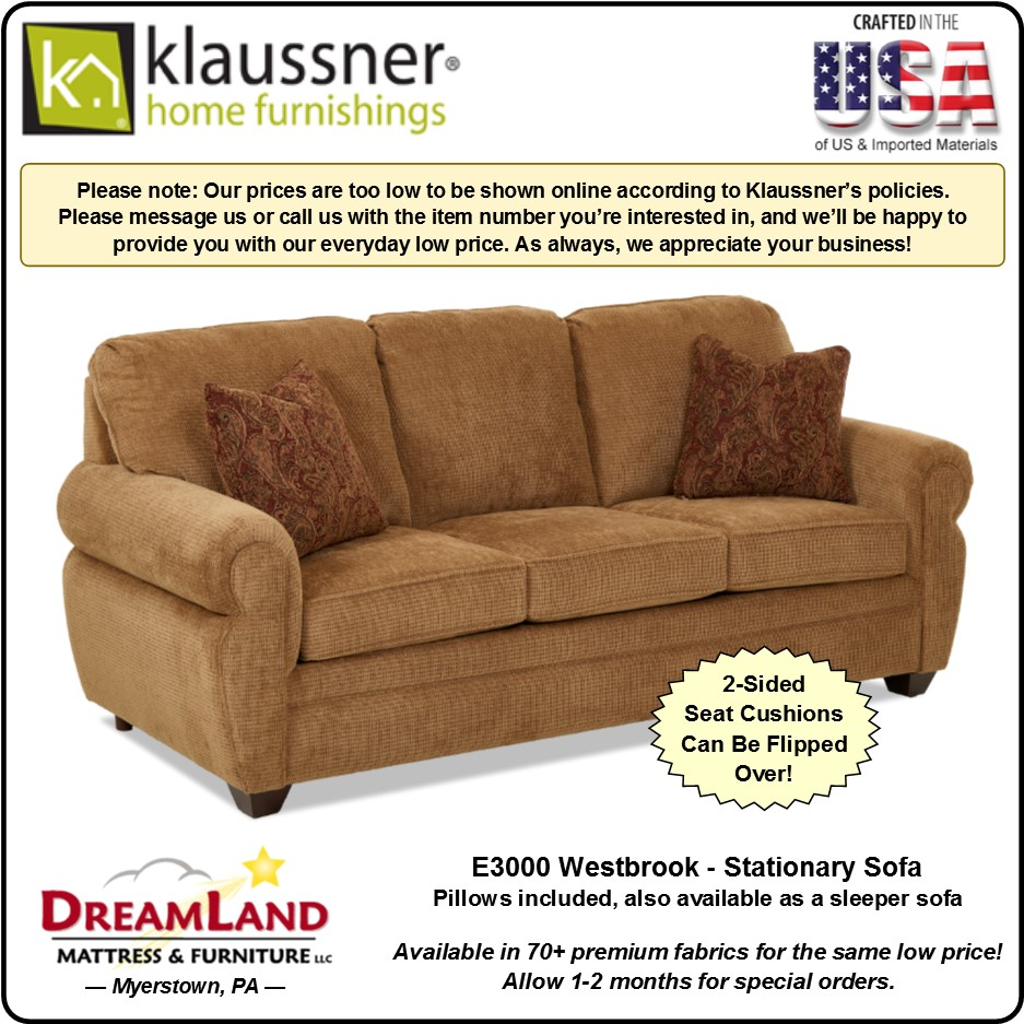 Stationary Sofa E3000 Westbrook