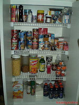 8 Steps To Get Your Pantry Organized