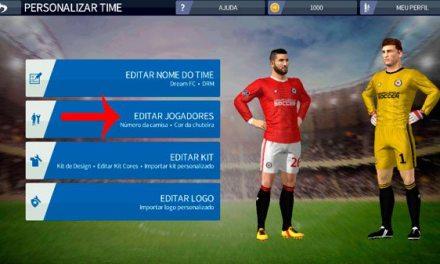 Como editar o nome do time e editar os jogadores no DREAM LEAGUE SOCCER 2020