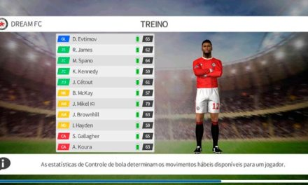 Como usar o modo treino no DREAM LEAGUE SOCCER 2020
