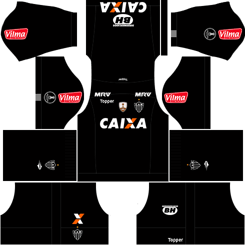kit atletico mineiro dls17 libertadores alternativo