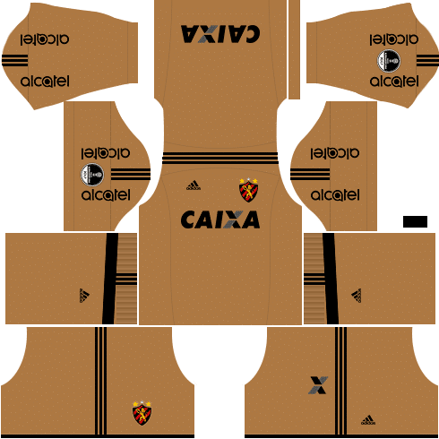 kit sport dls17 sul americana alternativo