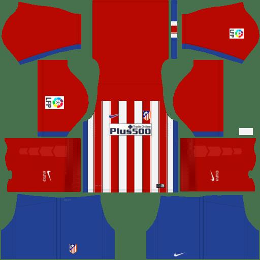 kit Atletico Madrid dls17 uniforme casa
