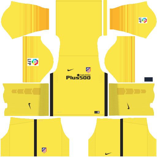 kit Atletico Madrid dls17 uniforme goleiro casa