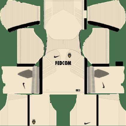 kit Monaco DLS 20 uniforme alternativo