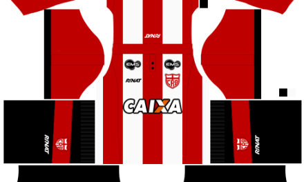 Kit CRB 2018 novo uniforme para DLS 20 – Dream League Soccer