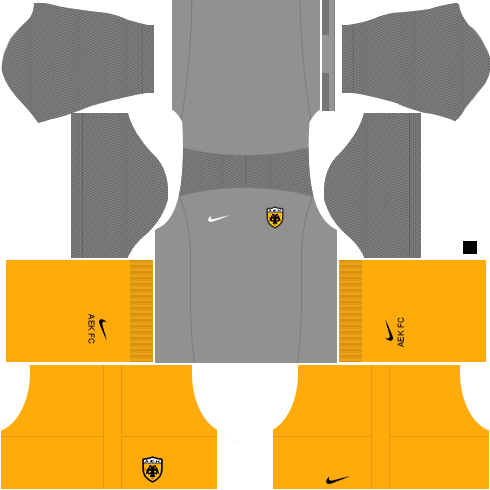 Kit AEK dls17 away - uniforme fora de casa 17-18