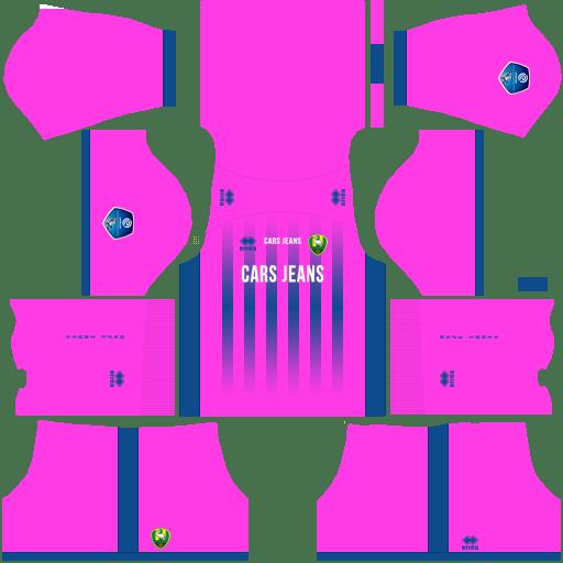 Kit ado den haag dls third Gk terceiro uniforme goleiro 18-19