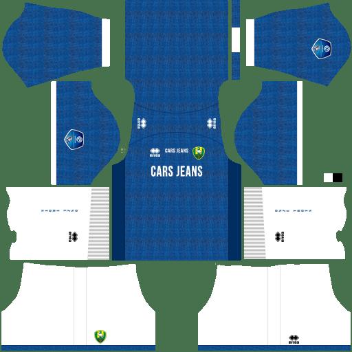 Kit ado den haag dls third terceiro uniforme 18-19