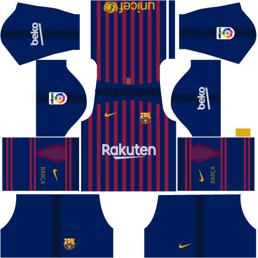 Kit-barcelona-DLS-18-Home-uniforme-casa-18-19