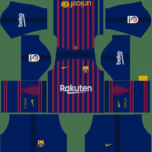 Kit-barcelona-DLS-18-Home-uniforme-casa-18-19