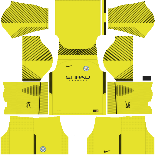 kit Manchester city dls17 away gk - uniforme goleiro fora de casa