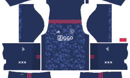 Kit Ajax Amsterdam 2018 novo uniforme para DLS 20 – Dream League Soccer