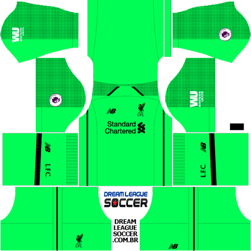 Kit Liverpool 2018 2019 Dream League Soccer Kits Url 512 512 Dls 20