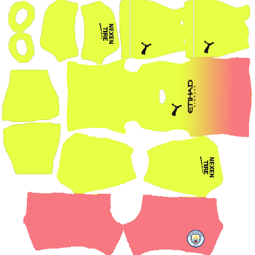 kit manchester city dls20 third terceiro uniforme 19-20