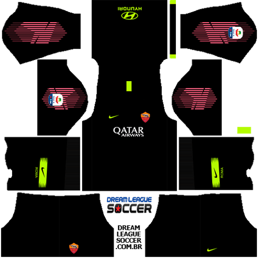 kit-roma-dls-away-Gk-uniforme-goleiro-fora-de-casa-18-19