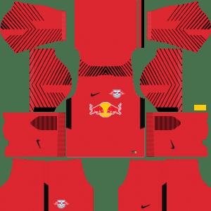 RB Leipzig Goalkeeper Away Kits DLS 2018