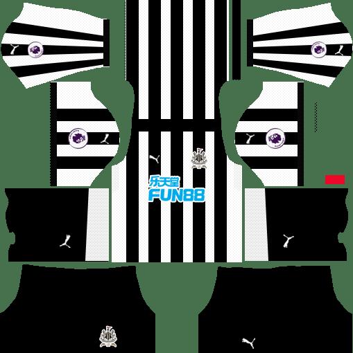 Newcastle United F.C. Home Kits DLS 2018