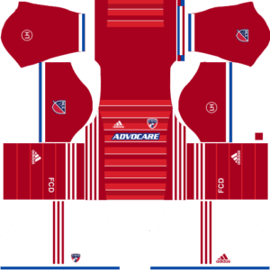 FC Dallas Home Kits DLS 2018