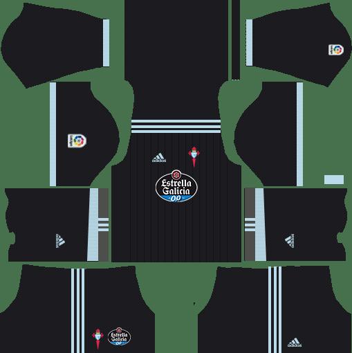 Celta Vigo Away Kits DLS 2018