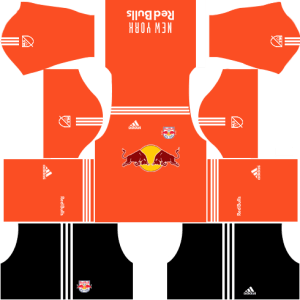 New York Red Bulls Goalkeeper Away Kits DLS 2018