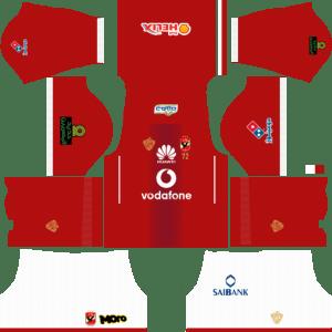 Al Ahly SC (Egypt) Home Kits DLS 2018